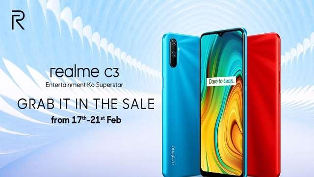 Realme C3 મોબાઈલ નો Sale Flipkart પર